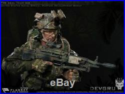 16 Scale FLAGSET FS-73020 The Seal Team Six DEVGRU Male Solider Action Figure