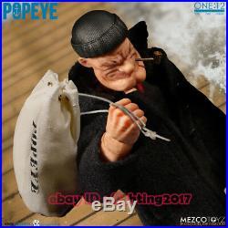 1/12 Scale Mezco Toyz 76470 6 inch POPEYE The Sailor Figure Statue In Stock