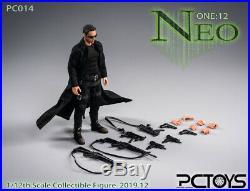 1/12 Scale PCTOYS PC014 The Hacker Killer Nio Solider Figure Model Full Set