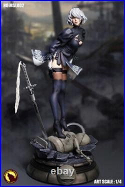 1/4 Scale MOONLIGHT STUDIO NieR Automata YoRHa 2B Action Figure Statue