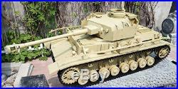 1/6 Scale 12 Diecast Panzerkampfwagen IV Tank (Sand)