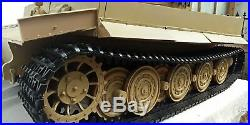 1/6 Scale 12 Diecast Panzerkampfwagen VIAusfE Tiger I Tank Sand