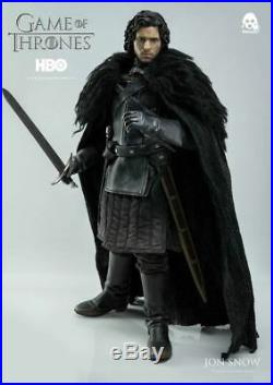 1/6 Scale 12 Game Of Thrones Jon Snow Figure ThreeA 3A Threezero Toys NEW