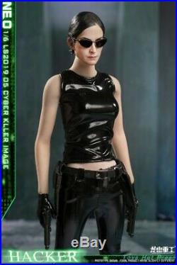 1/6 Scale Black Empire Girl Assassin Cyber Killer LS2019-05 Fit 12 Figure Body