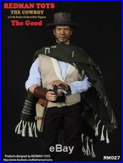 1/6 Scale Collectible Figure REDMAN TOYS Clint Eastwood COWBOY The good iminime