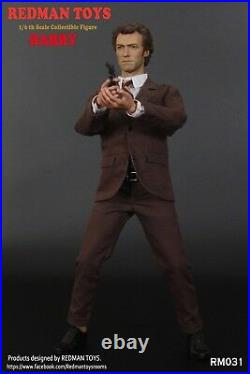 1/6 Scale Collectible Figure REDMAN TOYS Clint Eastwood Dirty Harry RM031