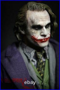 1/6 Scale Fire A001 Joker Batman Series withTwo Heads Action Figure Model Full Set