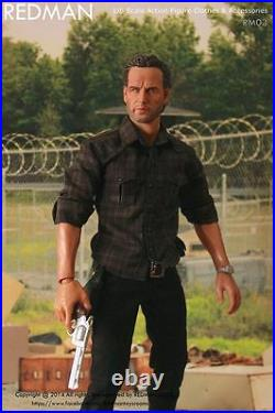 1/6 Scale The Walking Dead Rick Grimes REDMAN TOYS Fit DAMTOYS HOT TOYS Body