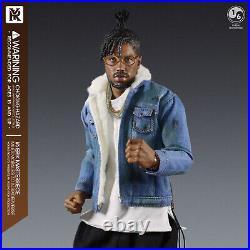 1/6 Scale YRTOYS YR012 Black Panther Erik Killmonger Body Head Sculpt Props