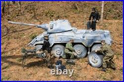 1/6 Scale vehicle WWII German Sd. Kfz. 234/2 Puma Actionfigur mode forum Tank