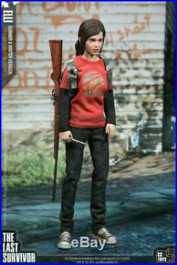 1/6th Scale The Last of Us Last Survivor ELLI 12 Figure Summer&Winnter Clothes