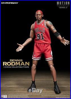 1/9 Scale ENTERBAY NBA Collection Dennis Rodman Action Figure