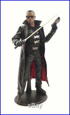 2009 1/6 Scale 12 Blade Figure Wesley Snipes Sideshow Hot Toys Marvel MCU