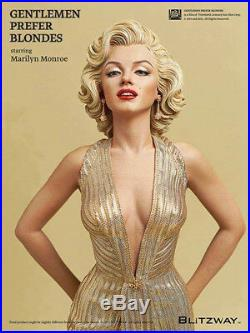 40CM Gentlemen Prefer Blondes Marilyn Monroe Cartoon 1/4 Scale PVC Statue Figure