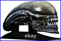 ALIEN Covenant Xenomorph 11 Scale Life Size Head Prop Replica (CoolProps)
