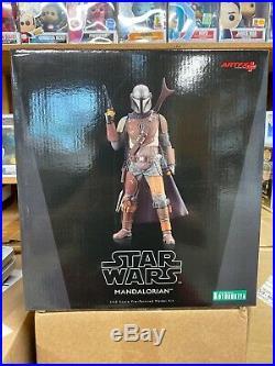 ArtFX+ 1/10 Scale Statues Star Wars Disney Plus The Mandalorian Ship Fast
