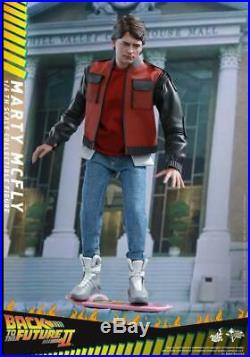 Back To The Future Hot Toys Part II MARTY MCFLY 16 Scale Action Figure