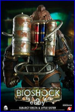 Bioshock Subject Delta & Little Sister ThreeZero Figure 1/6 Scale Series