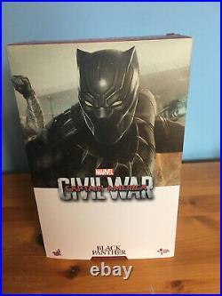 Black Panther Civil War Hot Toys 1/6 Scale Marvel Figure