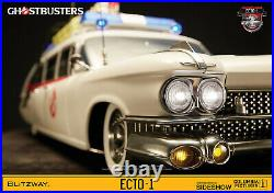 Blitzway Ghostbusters Ecto-1 1984 1/6 Scale Vehicle Brand New In Stock Now