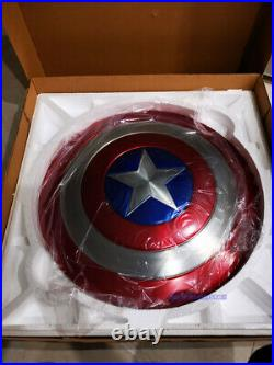 Captain America 11 Scale Shield Model Aluminium Alloy Painted Cosplay F Prop