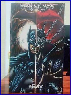 Custom 1/6 Scale Batman Who Laughs Dark Nights Metal Action Figure Model MX Toy