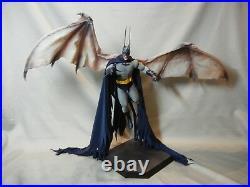 Custom 1/6 Scale Vampire Batman Red Rain Crimson Mist Dracula Hot Toys Tony Mei