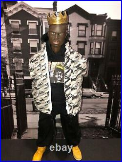 Custom Biggie Smalls 1/6 Scale 12 Rapper Action Figure AKA King of New York