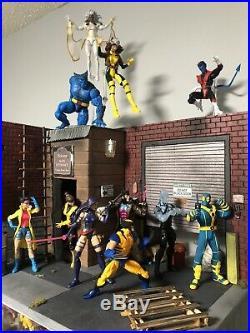 Custom Diorama 1/12 Scale Fits Marvel Legends Mezco Neca S. H Figuarts DC Mafex