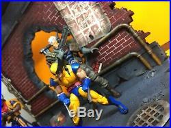 Custom large Diorama 1/12 scale marvel legends X-men