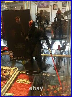 Darth Maul Duel on Naboo Star Wars SIDESHOW Sixth Scale 16 Hot Toys Complet