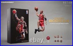 ENTERBAY 1/9 Scale Dennis Rodman ACTION FIGURE NBA CHICAGO BULLS MM-1209