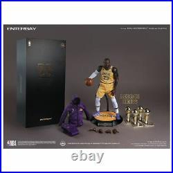 Enterbay NBA LA Lakers LeBron James Real Masterpiece 1/6 Scale Figure