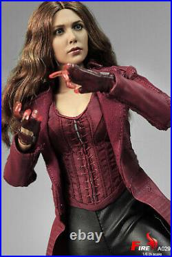 FIRE A029 1/6 Scale Scarlet Witch 3.0 Battle Ver. Female Action Figure Model