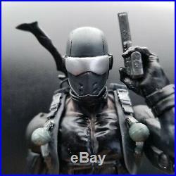 G. I. Joe Snake Eyes custom figure 6 inch scale