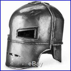 HCMY 1/1 Scale Iron Man MK1 Helmet Full Metal Wearabke Statue Model For Cosplay