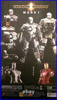 HOT TOYS Iron Man MK I MMS80 1/6 Scale Figure Mint in BOX Super rare
