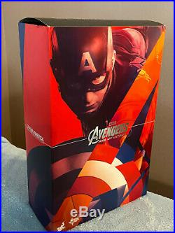 Hot Toys 1/6 Scale Captain America Age of Ultron