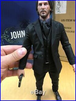 Hot Toys 1/6 Scale John Wick- John Wick Chapter 2- MMS 504