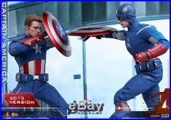 Hot Toys 1/6 scale Captain America (2012 Version) Avengers Endgame Figure MMS563