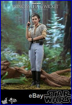 Hot Toys 1/6 scale Princess Leia and Wicket Star Wars Return of the Jedi MMS551