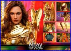 Hot Toys 1/6 scale Wonder Woman Figure 1984 Golden Armor pre order USA Seller