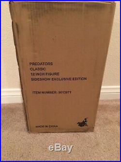 Hot Toys 1/6th Scale Classic Predator Action Figure Exclusive used low price