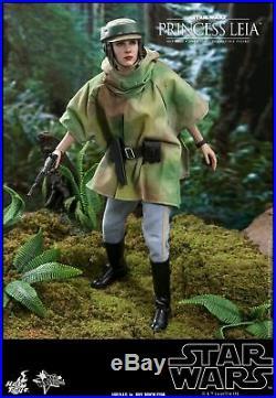 Hot Toys 1/6th scale Princess Leia Figure Star Wars Return of the Jedi MMS549