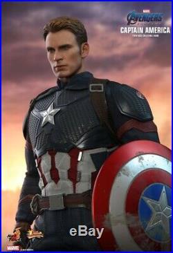 Hot Toys Avengers Endgame Captain America MMS536 1/6 Scale Figure PRE ORDER