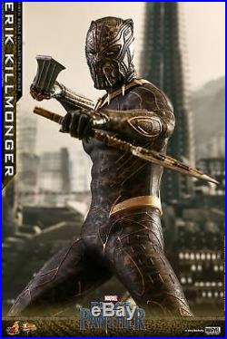 Hot Toys Black Panther 1/6th scale Erik Killmonger Collectible Figure MMS471