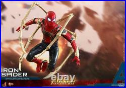 Hot Toys IRON SPIDER 1/6 SCALE ACTION FIGURE Avengers Infinity War IN STOCK