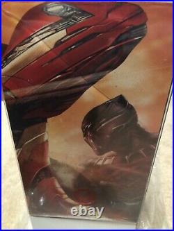 Hot Toys Iron Man Mark XLVI Diecast MMS353 1/6 Scale Figure Civil War