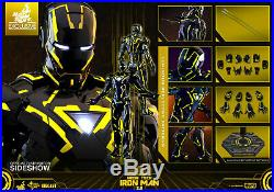 Hot Toys Iron Man Neon Tech 2.0 SDCC 2019 Exclusive Marvel 1/6 Scale Figure New