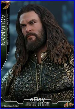 Hot Toys Justice League 1/6th scale Aquaman Collectible Figure MMS447 In Stock